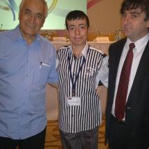 Mutlu Gül Çalışır,Psikolog yazar Doğan Cüceloğlu ile Ankarada buluştu